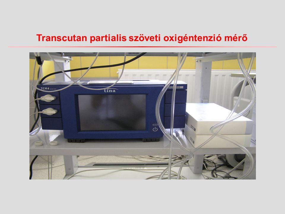 Transcutan partialis szöveti oxigéntenzió mérő