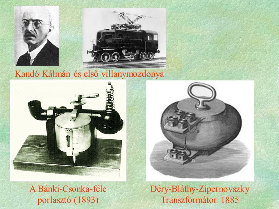 375-ös univerzális gőzmozdony (1907) Egy NHT által rendelt étkezőkocsi a MÁVAG-tól A MÁV 301 sorozatú gyorsvonati mozdonya (1911–1914) 1900-ra elkészült az első 100 km/h sebességű mozdony