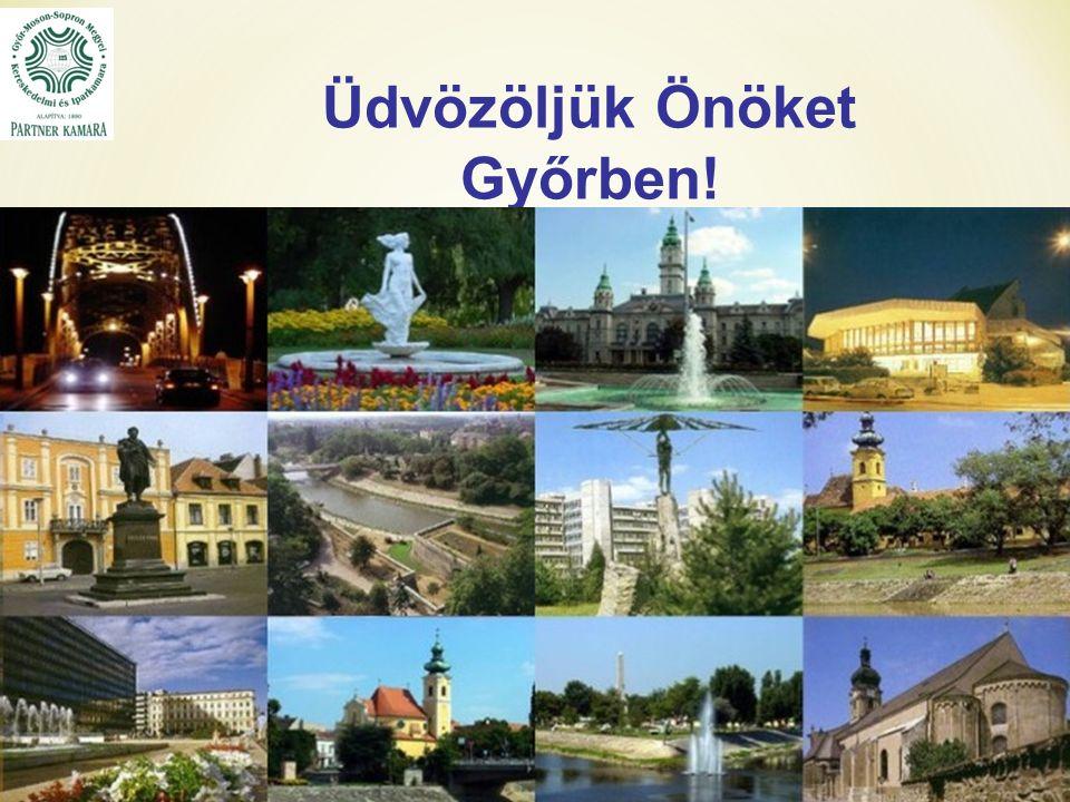 Üdvözöljük Önöket Győrben!