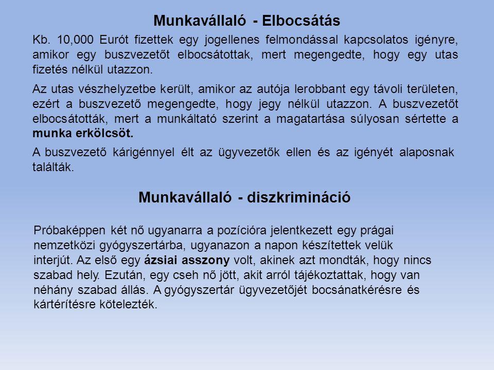 Kb. 10,000 Eurót fizettek egy jogellenes felmondással kapcsolatos igényre, amikor egy buszvezetőt elbocsátottak, mert megengedte, hogy egy utas fizeté