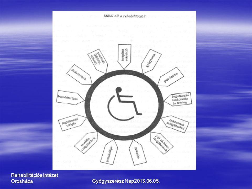 Rehabilitációs Intézet OrosházaGyógyszerész Nap2013.06.05.