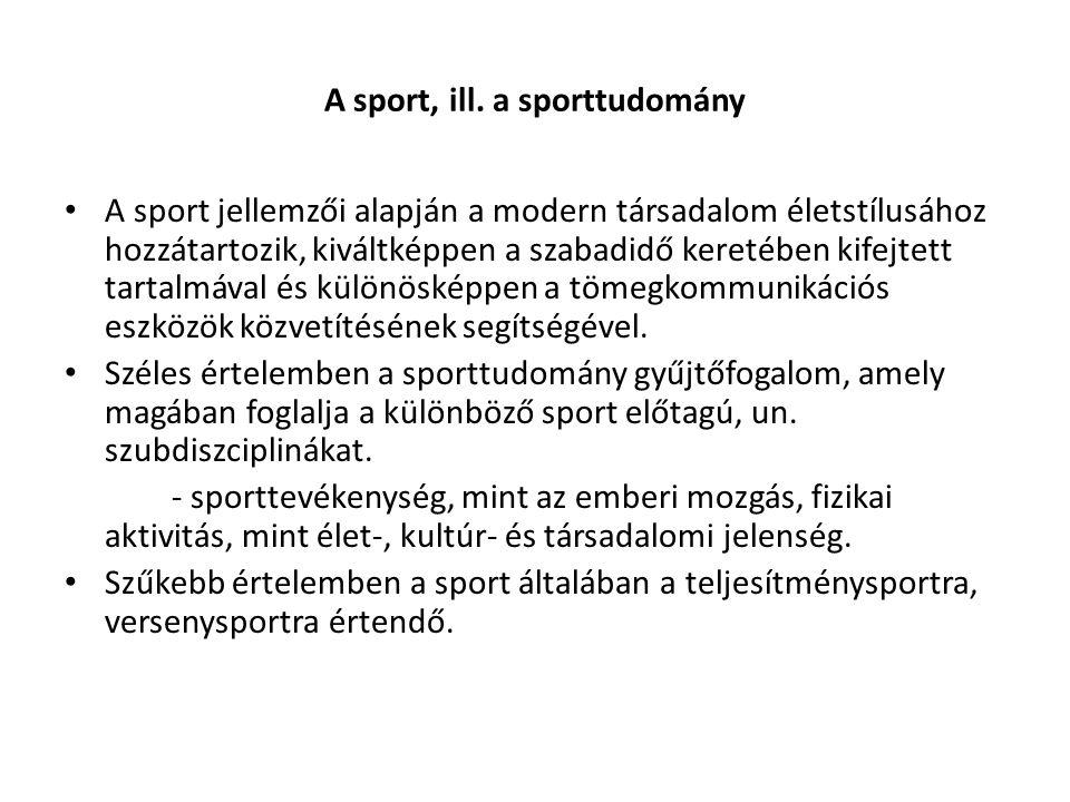 A sport, ill.