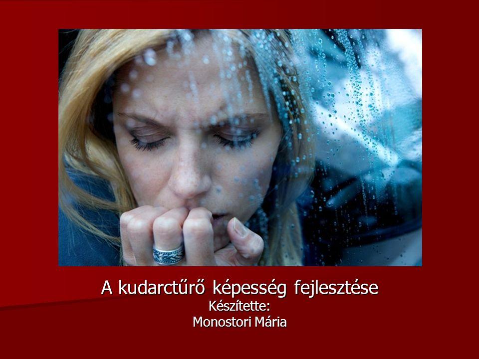 A kudarctűrő képesség fejlesztése Készítette: Monostori Mária