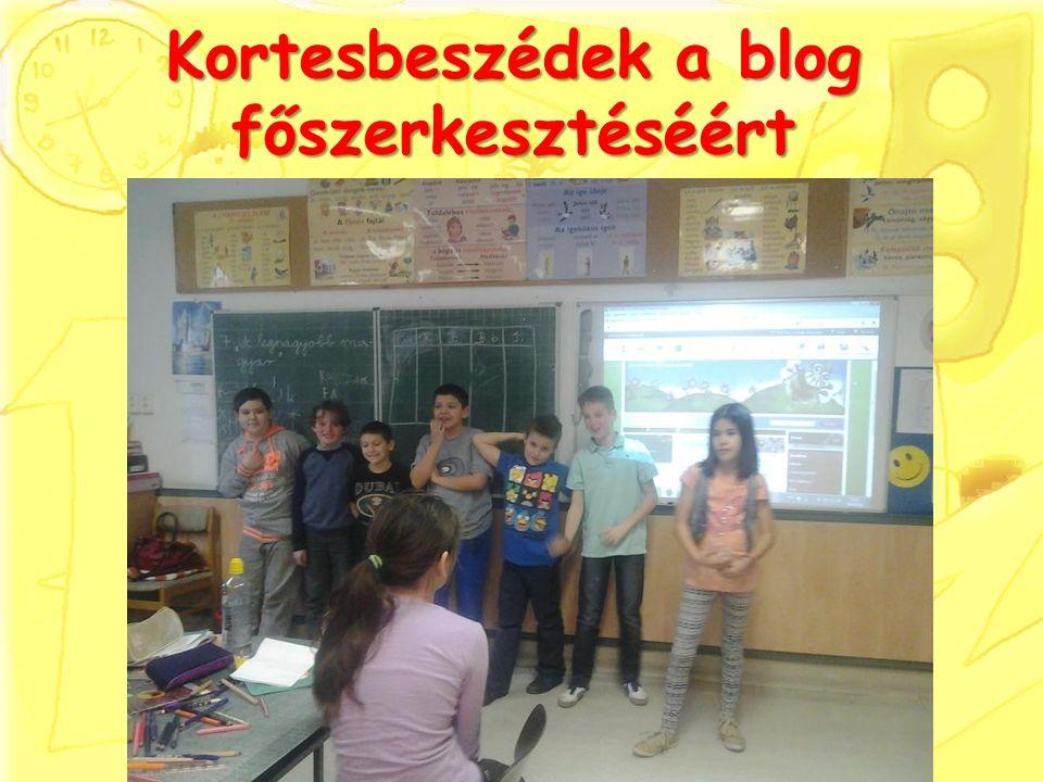 Kortesbeszédek a blog főszerkesztéséért