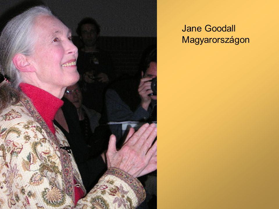 Jane Goodall Magyarországon