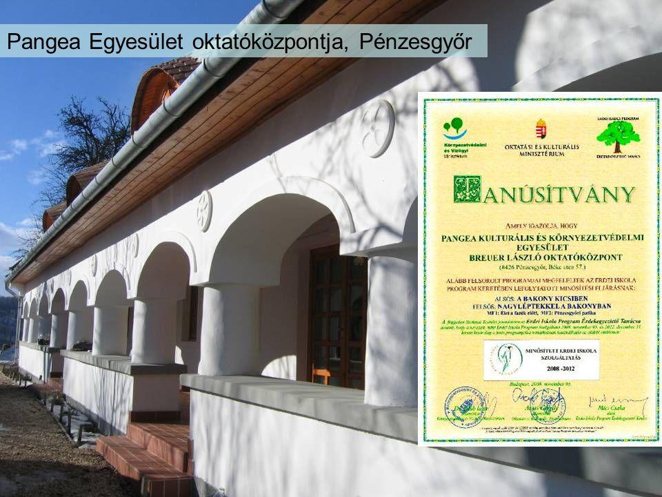 Pangea Egyesület oktatóközpontja, Pénzesgyőr