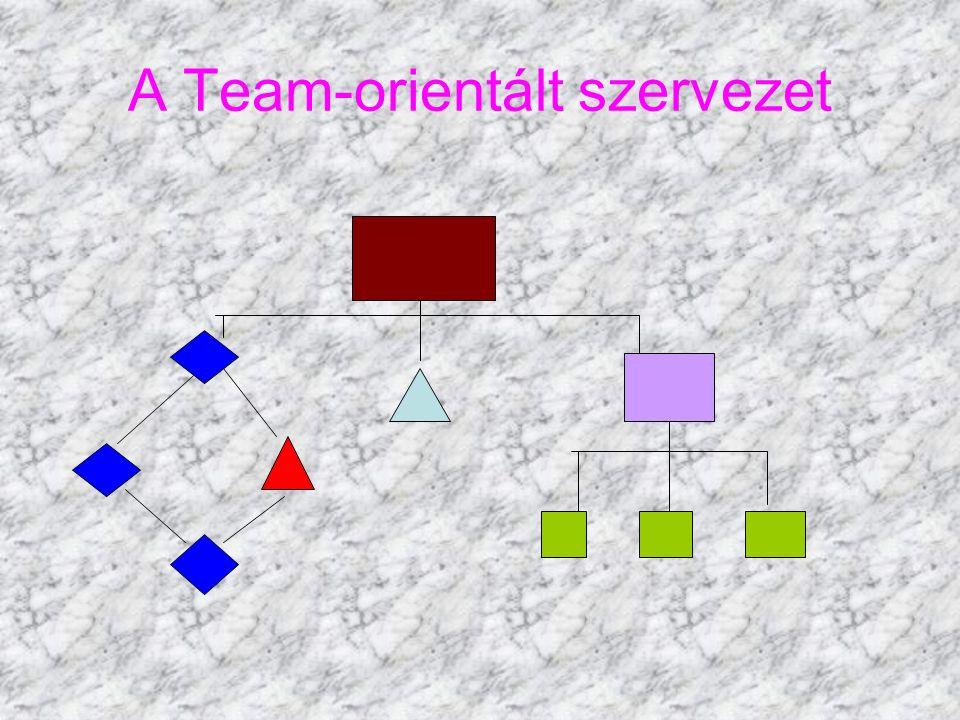 A Team-orientált szervezet
