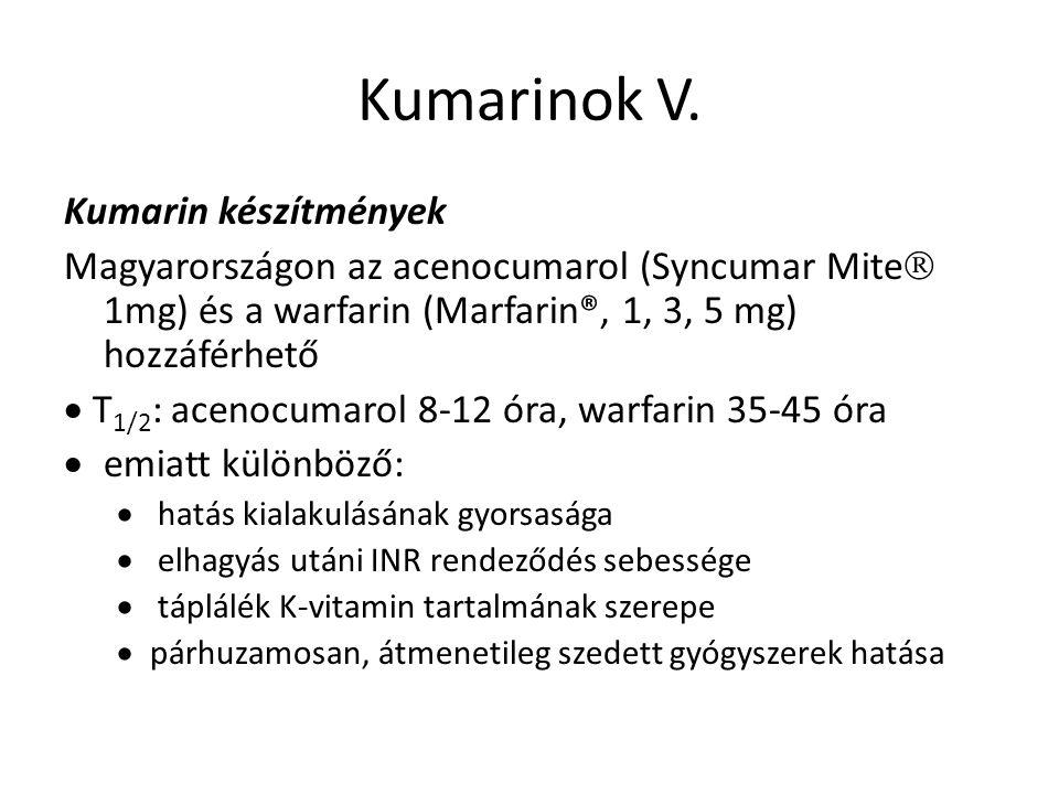 Kumarinok V.