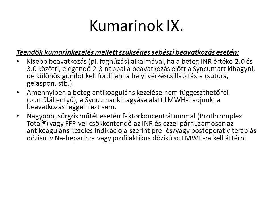 Kumarinok IX.