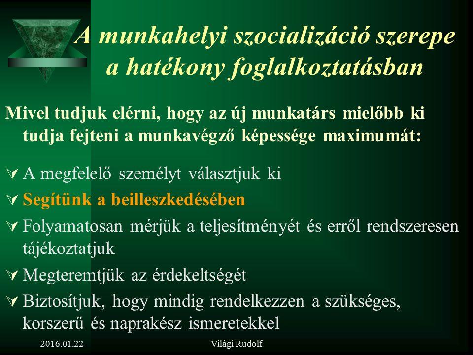 Világi Rudolf A klasszikus definíció alapján megkülönböztethetünk  Gyermekkori-,  Felnőttkori-,  Iskolai-,  Társadalmi-,  Munkahelyi  stb. SZOCI