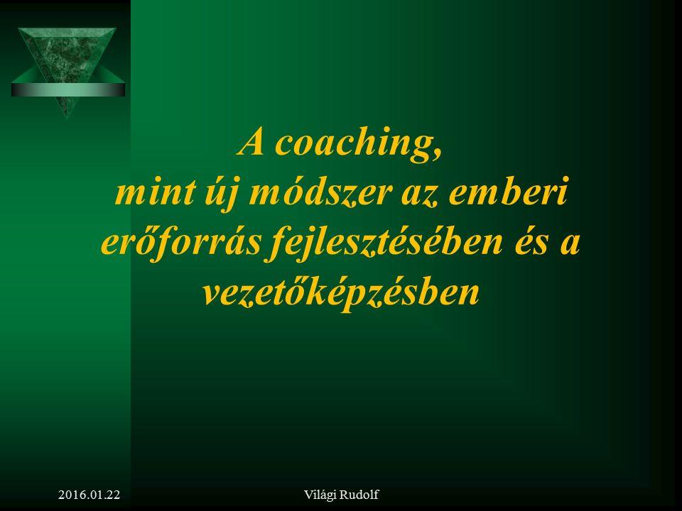A tréning módszer jellemzői  Interaktív  Kötetlen  12 – 14 fő dolgozik együtt  Tréner – katalizátor  Sajátos szabályok szerint  Számos módszerbő