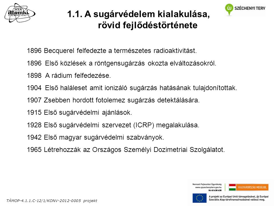 TÁMOP-4.1.1.C-12/1/KONV-2012-0005 projekt 2 1.1.