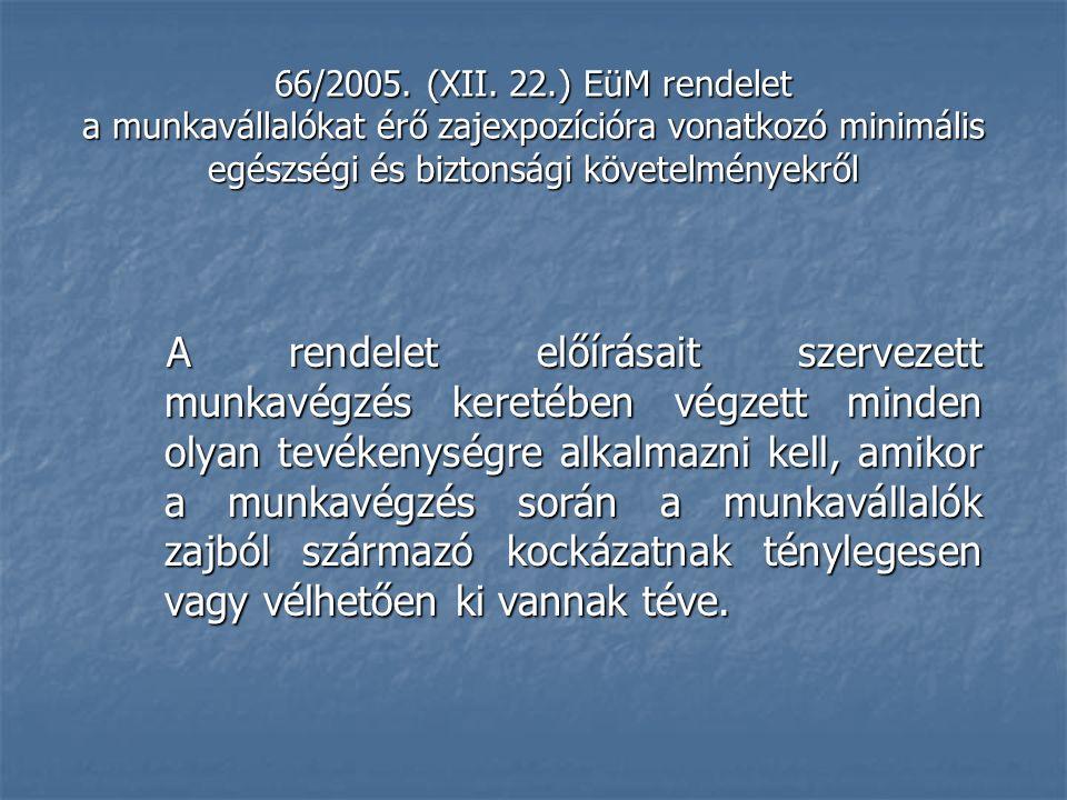 66/2005. (XII.