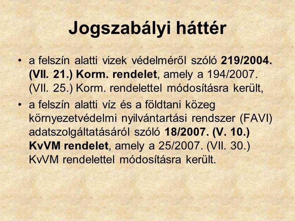 A 219/2004.(VII. 21.) Korm. rendelet 13.
