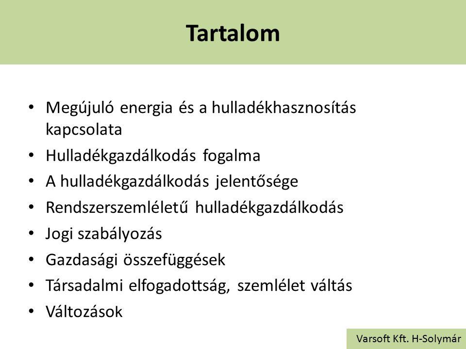 Eljárások Varsoft Kft.