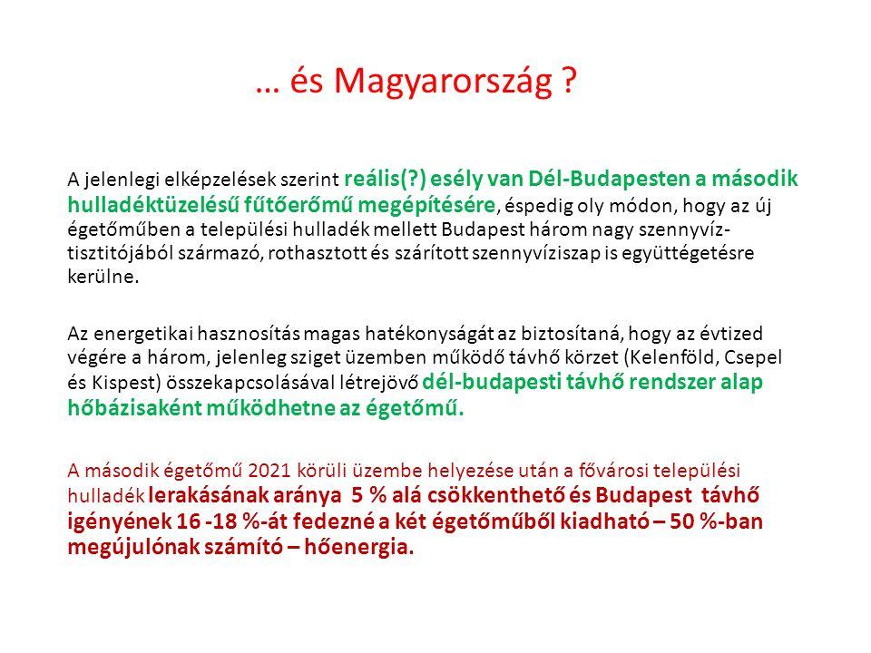 … és Magyarország .