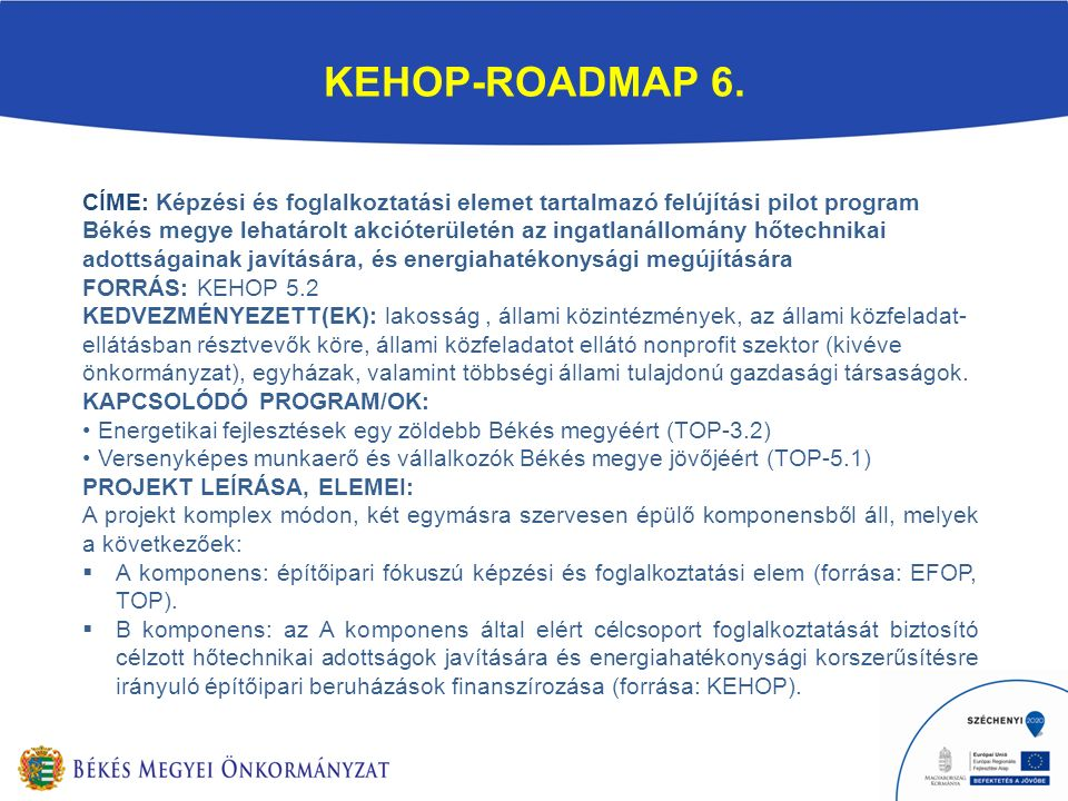 KEHOP-ROADMAP 6.
