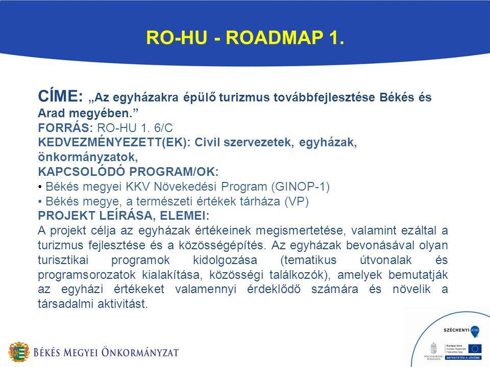 RO-HU - ROADMAP 1.