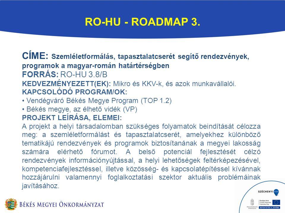RO-HU - ROADMAP 3.