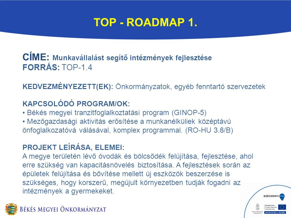 TOP - ROADMAP 1.