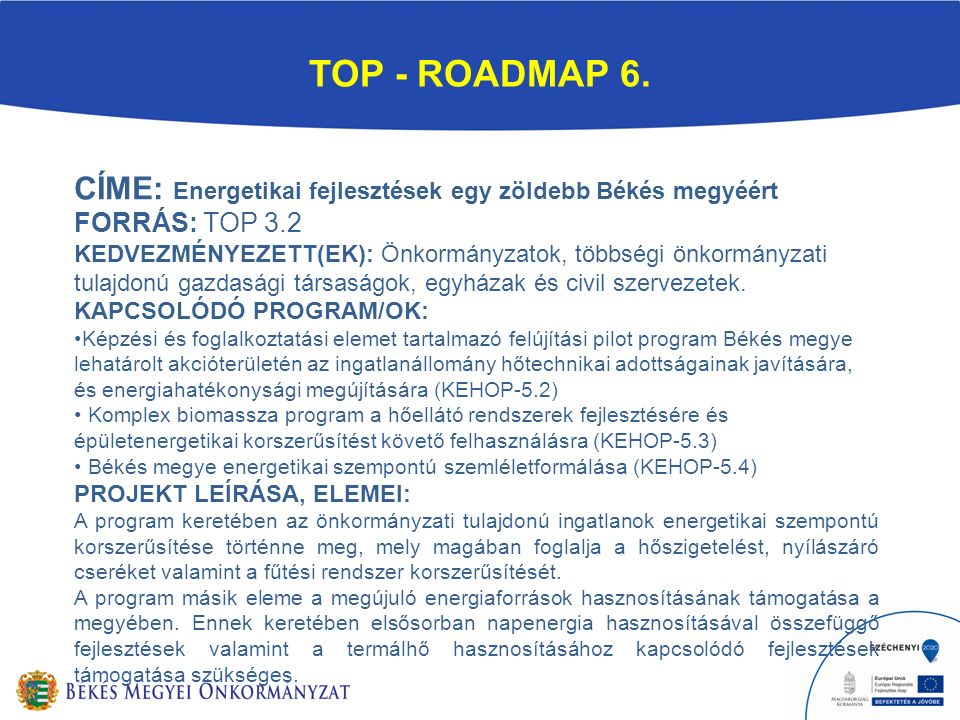 TOP - ROADMAP 6.