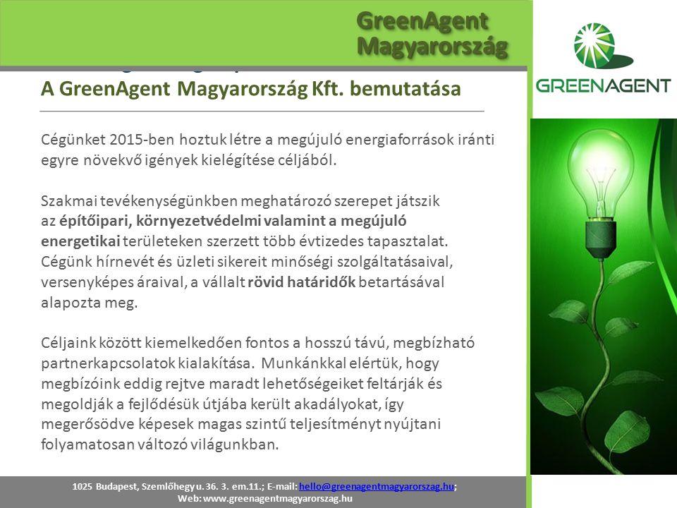 A GreenAgent Kft.