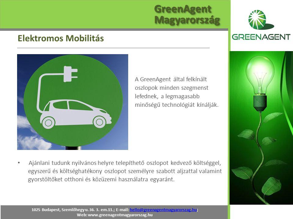 A GreenAgent által felkínált oszlopok minden szegmenst lefednek, a legmagasabb minőségű technológiát kínálják. Ajánlani tudunk nyilvános helyre telepí