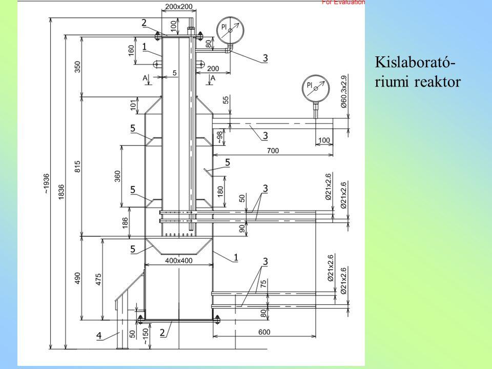Kislaborató- riumi reaktor