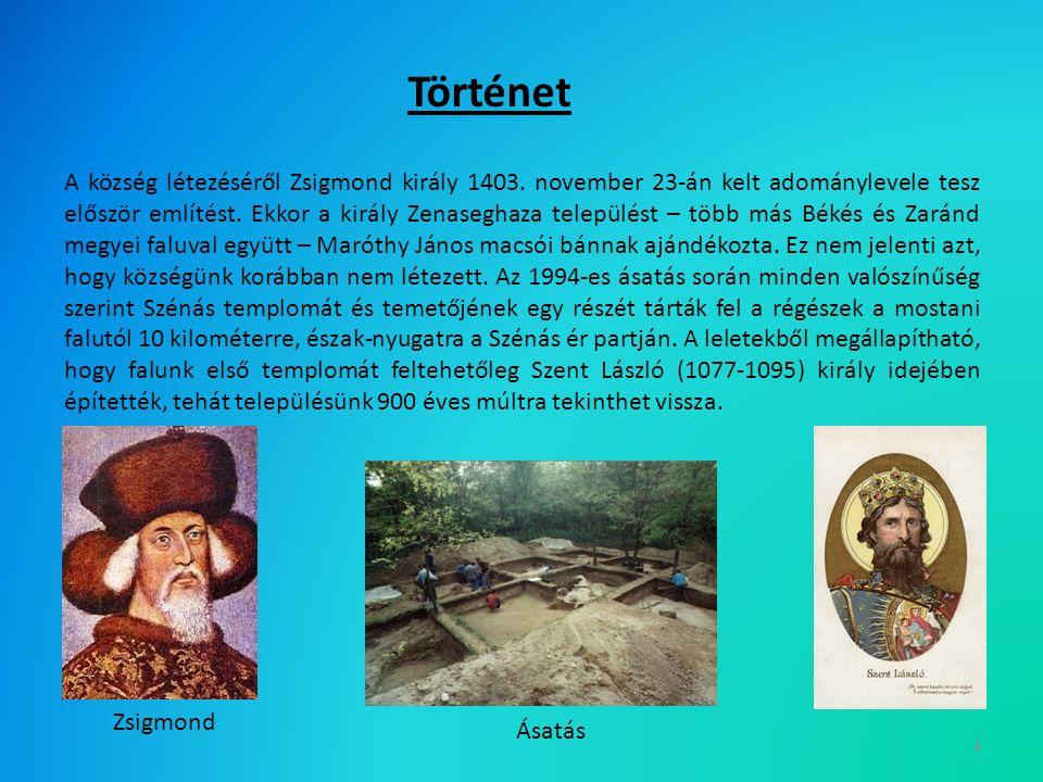 4 A község létezéséről Zsigmond király 1403.