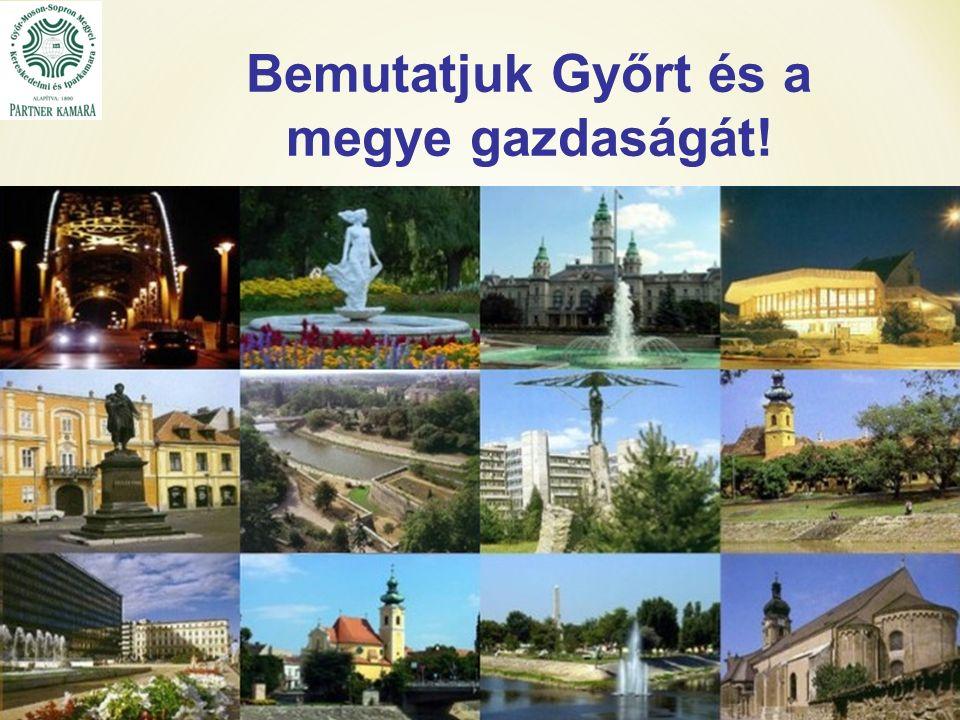 Bemutatjuk Győrt és a megye gazdaságát!