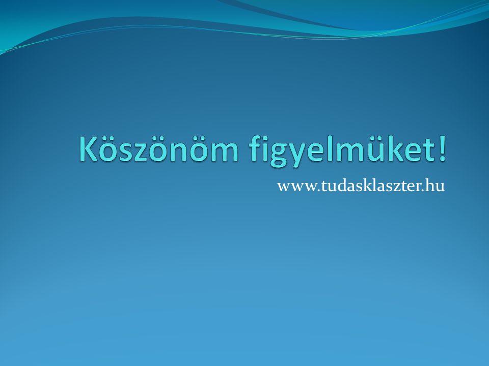 www.tudasklaszter.hu