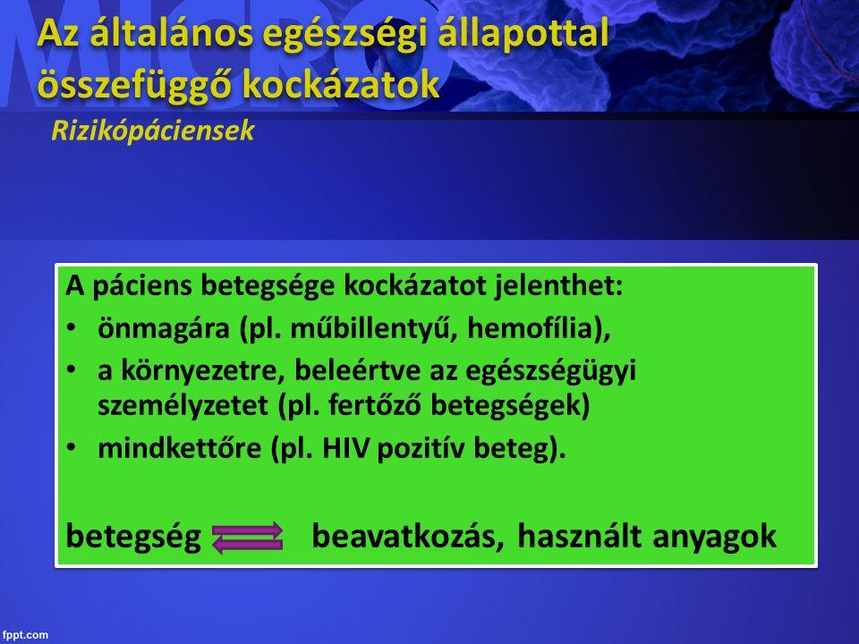 Biszfoszfonátok A biszfoszfonát kezelés felfüggesztése nem gátolja a progressziót A hosszú felezési idő miatt évekkel a kezelés megszakítása után is megvan a BON (bisphosphonate induced osteonecrosis of jaw) kockázata Figyelmeztető jelek: erythema, fekély, a fogak mozgathatósága Megelőzés: A kezelés megkezdése előtt teljes szanálás, lehetőleg rögzített fogpótlás készítése Antibiotikum profilaxis kötelező A biszfoszfonát kezelés felfüggesztése nem gátolja a progressziót A hosszú felezési idő miatt évekkel a kezelés megszakítása után is megvan a BON (bisphosphonate induced osteonecrosis of jaw) kockázata Figyelmeztető jelek: erythema, fekély, a fogak mozgathatósága Megelőzés: A kezelés megkezdése előtt teljes szanálás, lehetőleg rögzített fogpótlás készítése Antibiotikum profilaxis kötelező