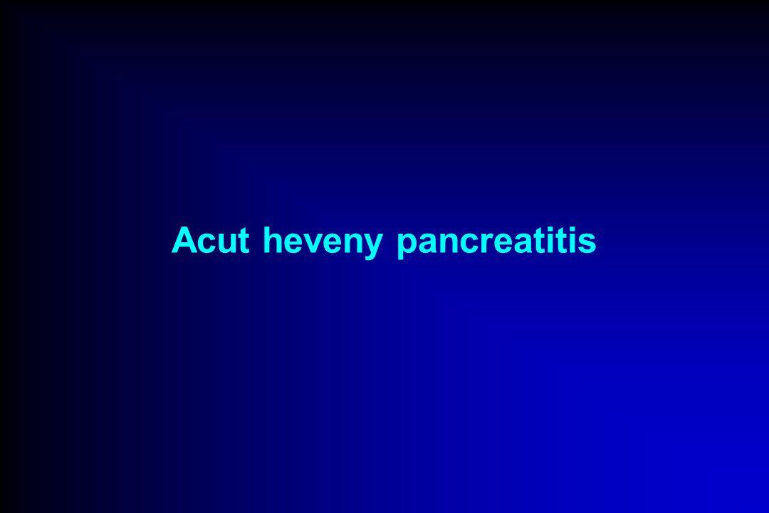 Acut heveny pancreatitis