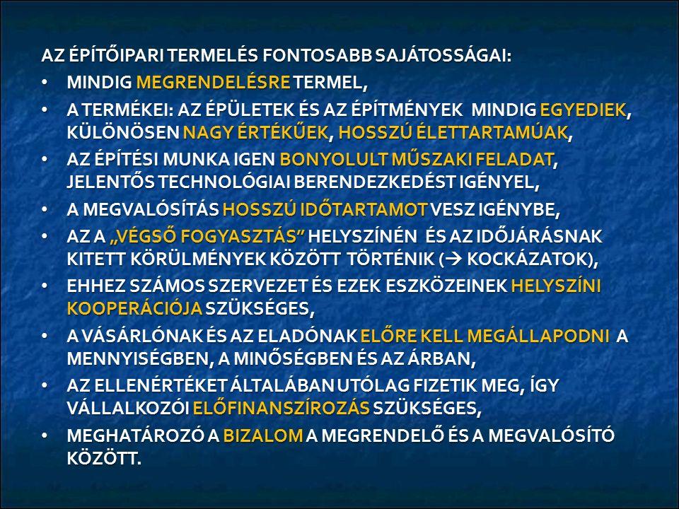 AZ EURÓPAI ÉPĺTŐIPARI TOPLISTA / FOLYTATÁS 9.