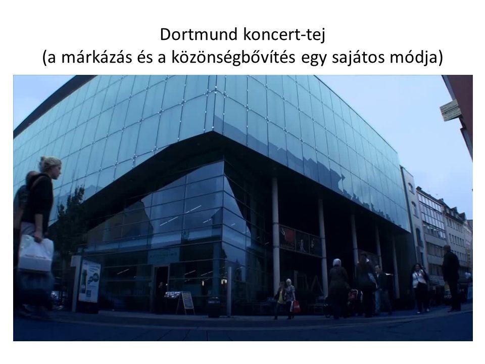 Dortmund koncert-tej (a márkázás és a közönségbővítés egy sajátos módja)