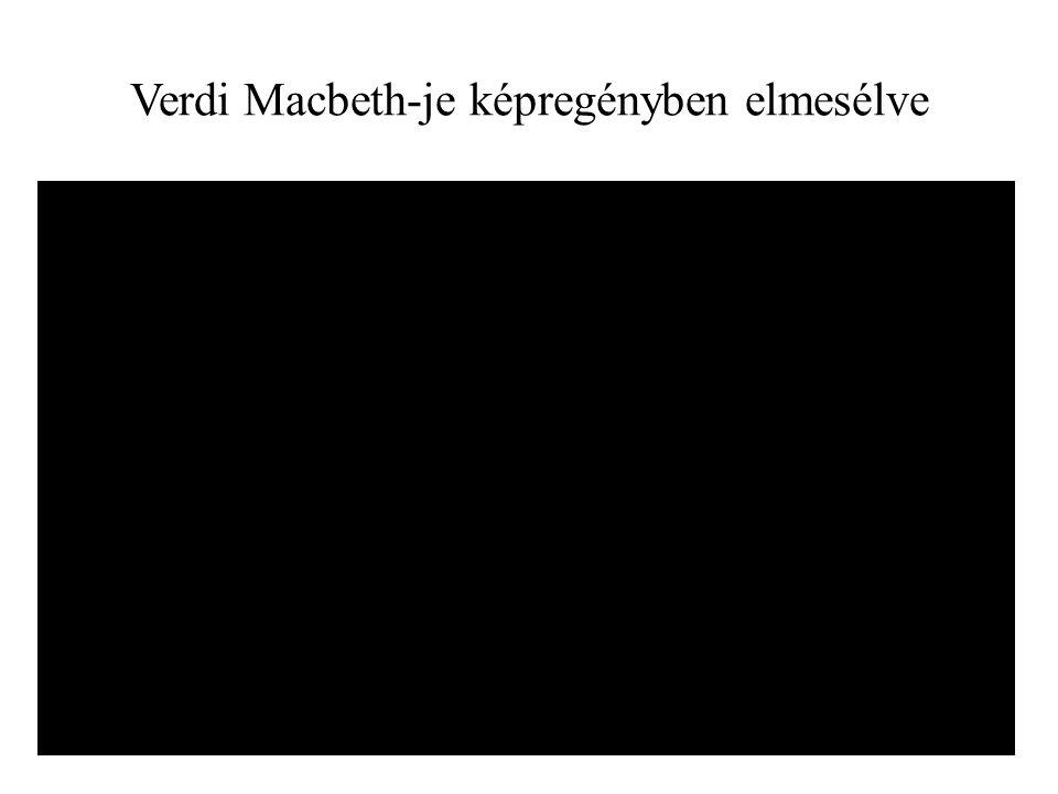 Verdi Macbeth-je képregényben elmesélve