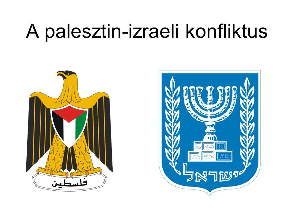 A palesztin-izraeli konfliktus