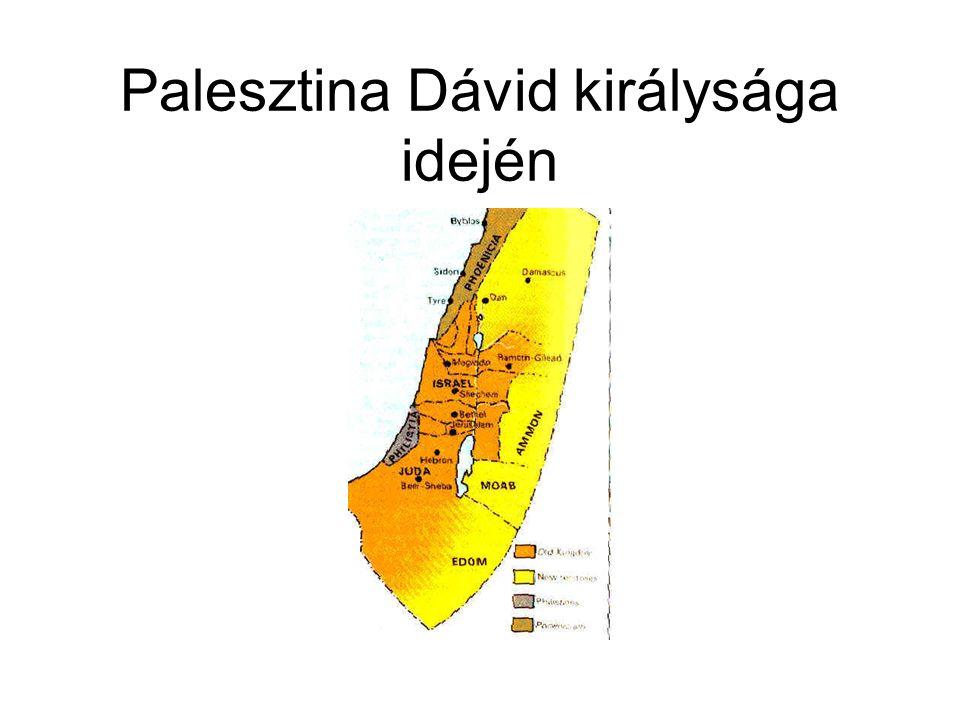 Palesztina Dávid királysága idején