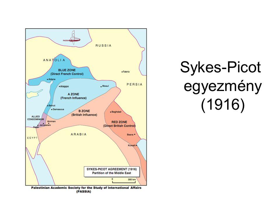 Sykes-Picot egyezmény (1916)