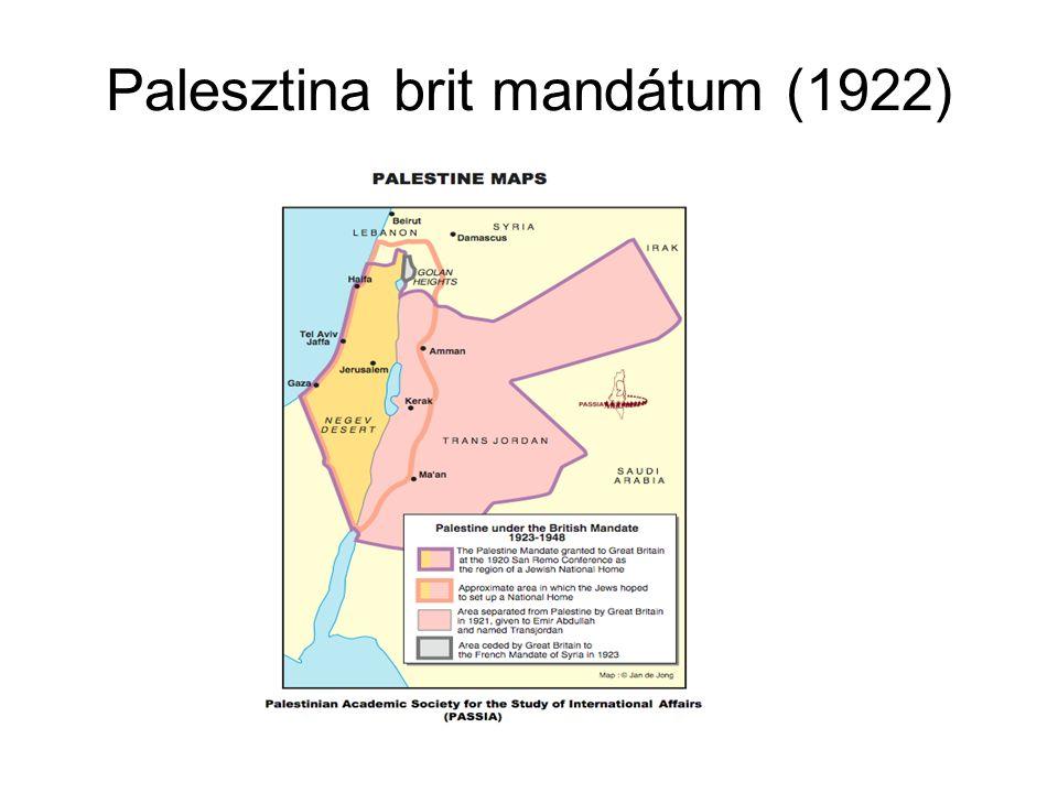 Palesztina brit mandátum (1922)