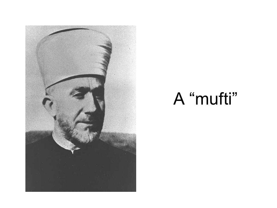 """A """"mufti"""""""