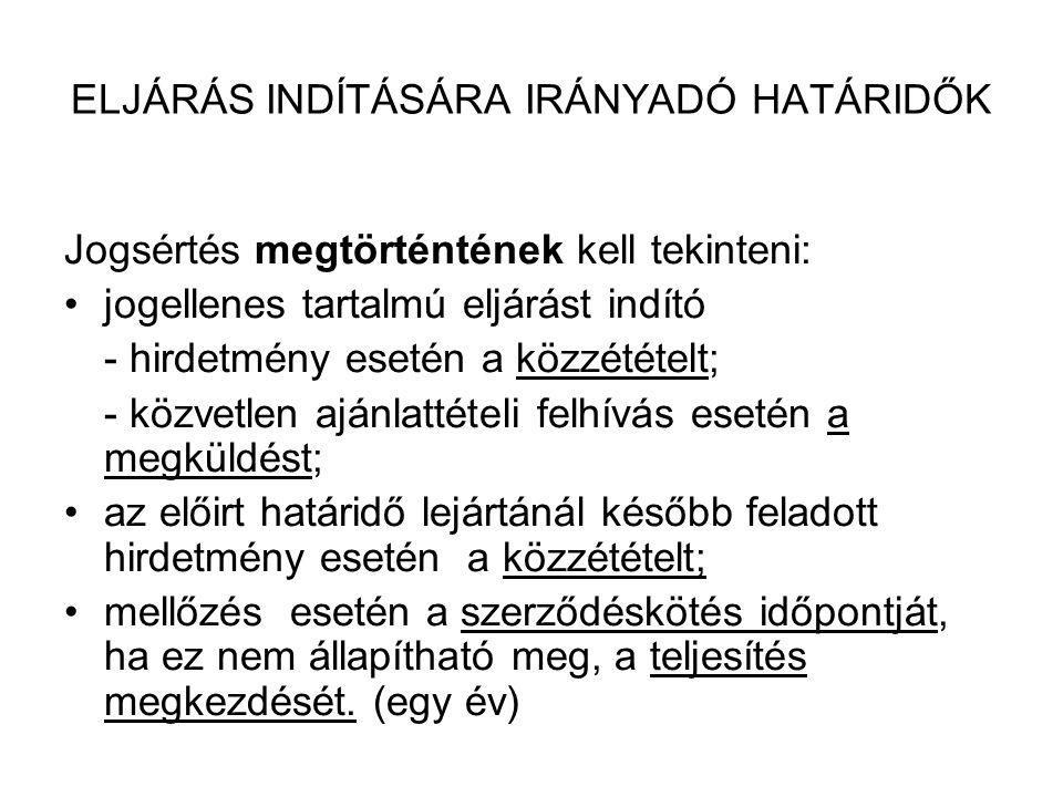 A JOGORVOSLATI RENDSZER TOVÁBBI VÁLTOZÁSAI 2010.01.