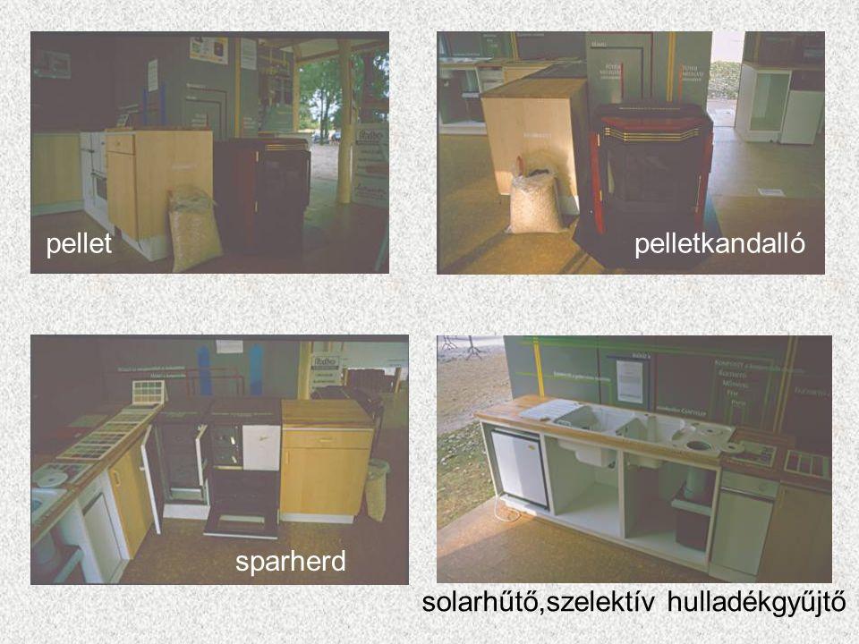 pelletkandallópellet sparherd solarhűtő,szelektív hulladékgyűjtő