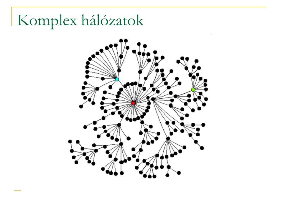 Komplex hálózatok