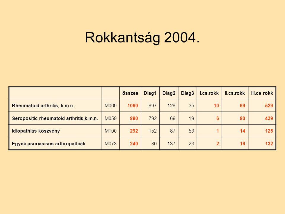 Rokkantság 2004.