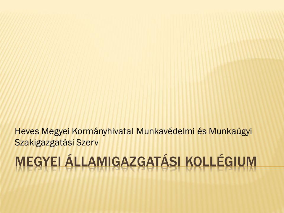 Heves Megyei Kormányhivatal Munkavédelmi és Munkaügyi Szakigazgatási Szerv