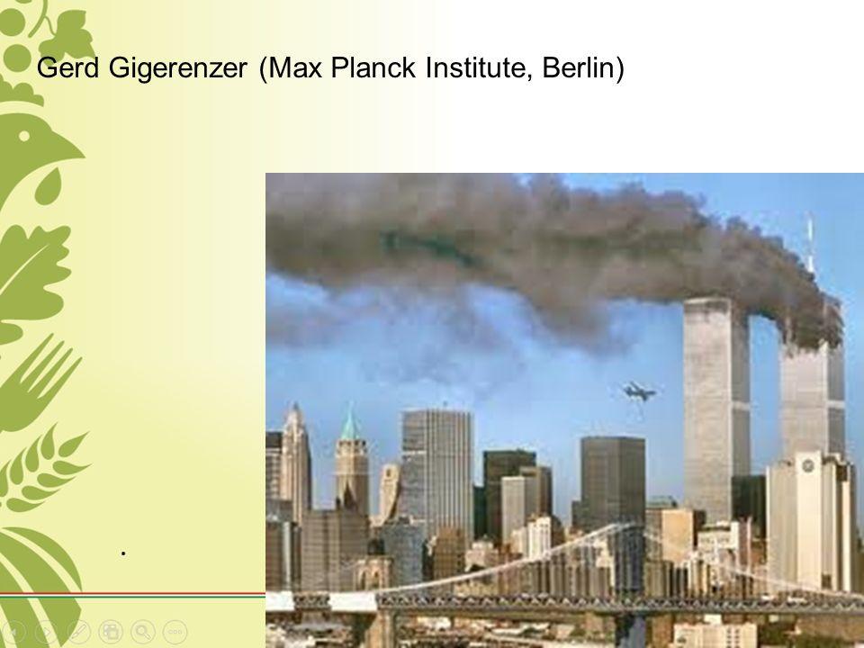 Gerd Gigerenzer (Max Planck Institute, Berlin)