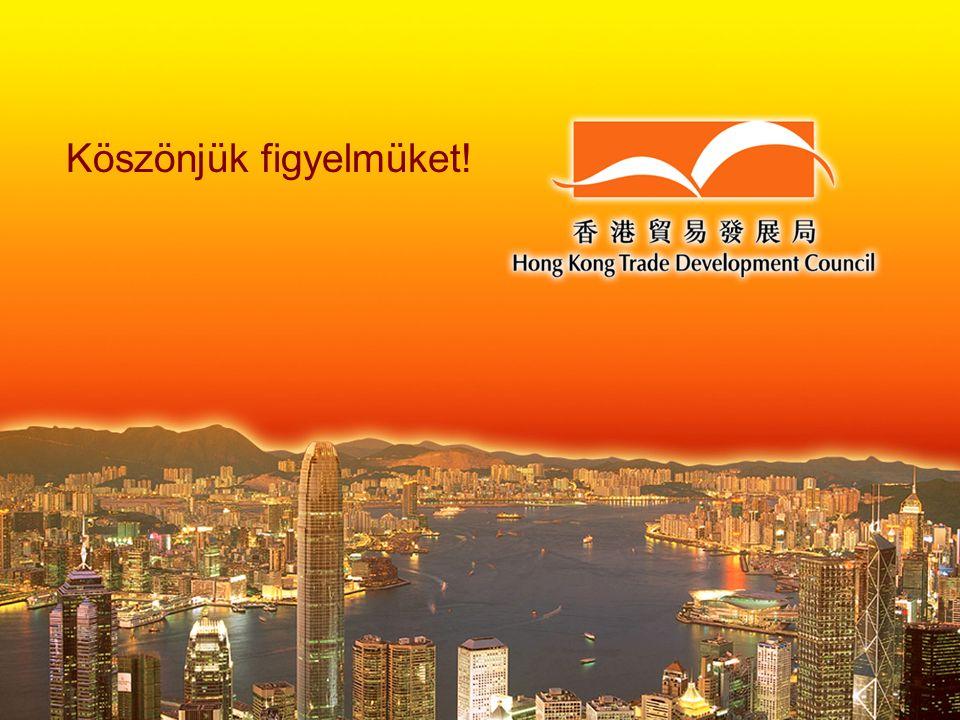 Hong Kong TDC Köszönjük figyelmüket!