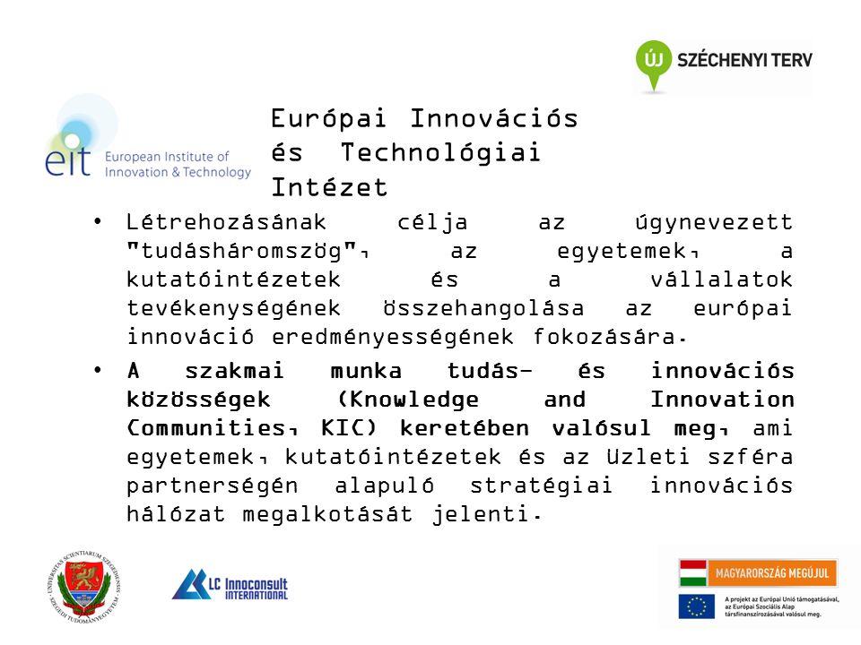 Létrehozásának célja az úgynevezett tudásháromszög , az egyetemek, a kutatóintézetek és a vállalatok tevékenységének összehangolása az európai innováció eredményességének fokozására.