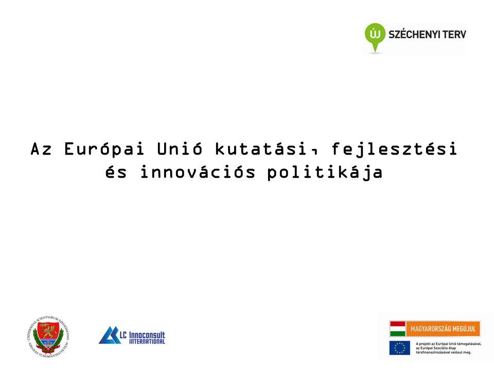 Az Európai Unió kutatási, fejlesztési és innovációs politikája